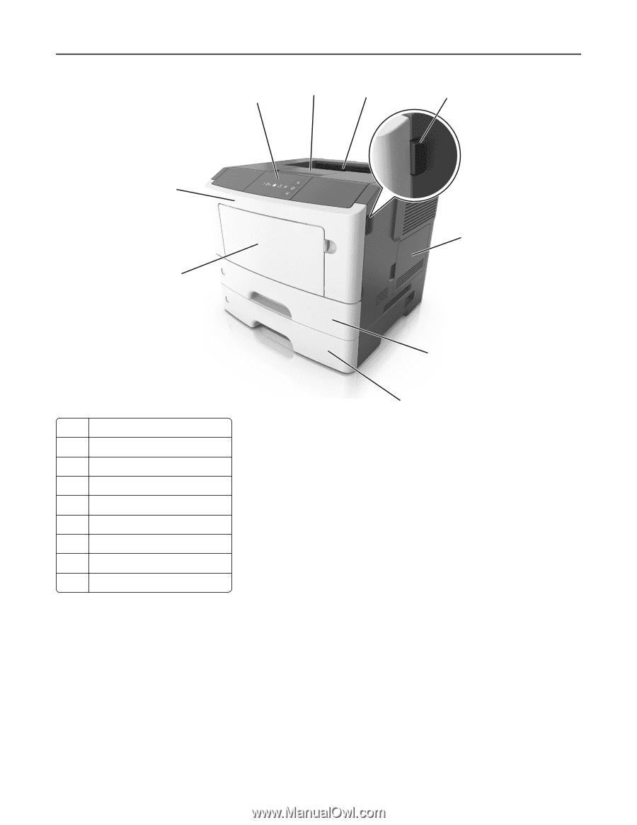 Lexmark MS310 | User's Guide