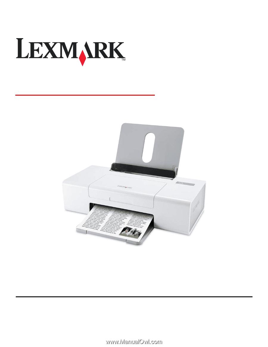 LEXMARK Z1300 SERIES DRIVER FOR WINDOWS MAC