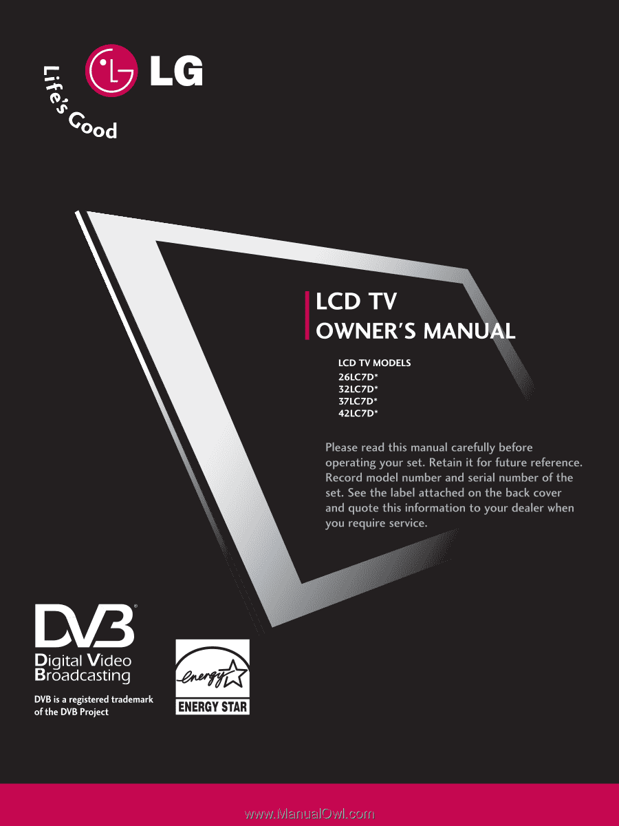 lg 26lc7d owner s manual english rh manualowl com LG Cell Phone Manuals LG Touch Phone Operating Manual