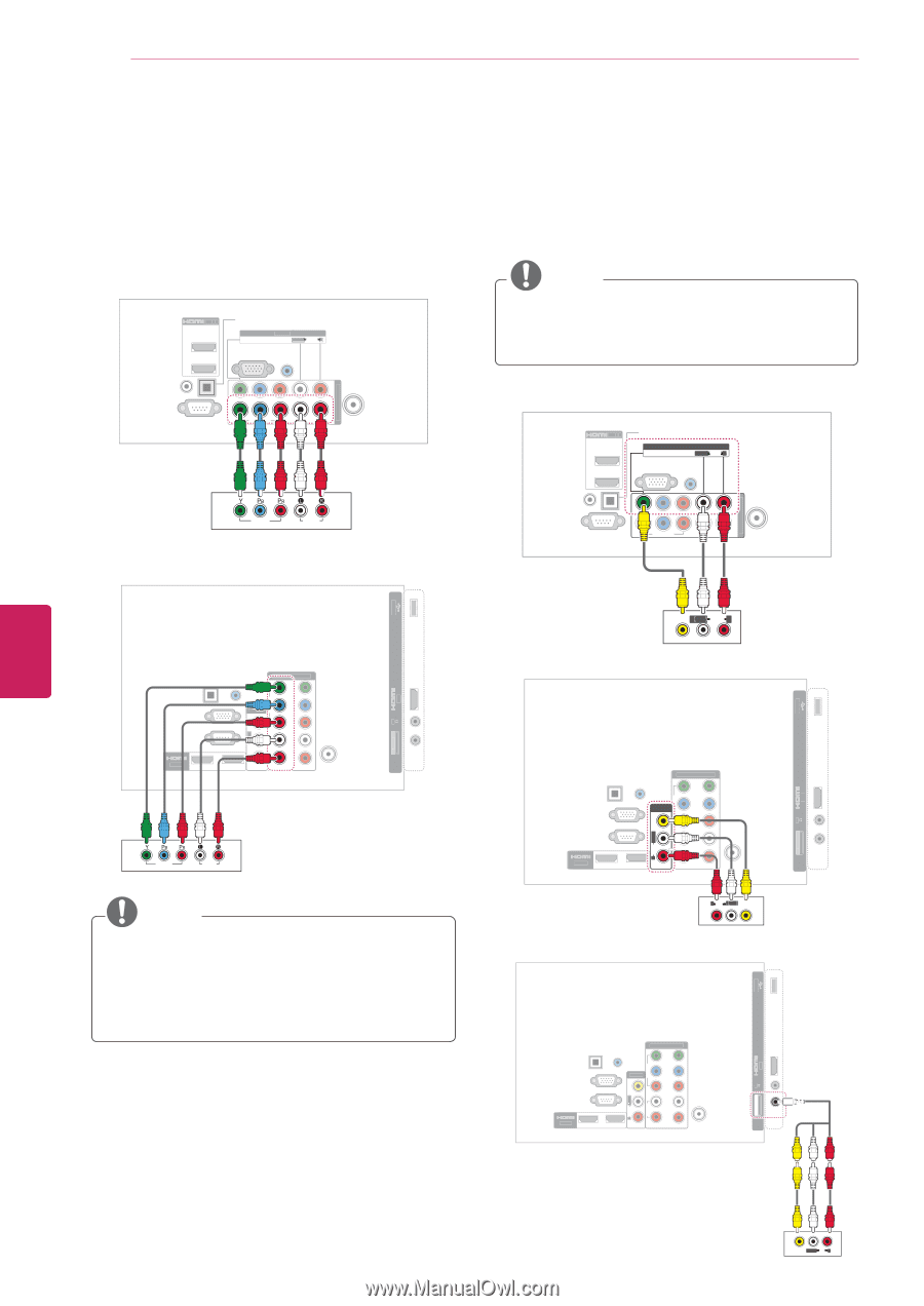 LG 55LK520 | Owner's Manual - Page 80