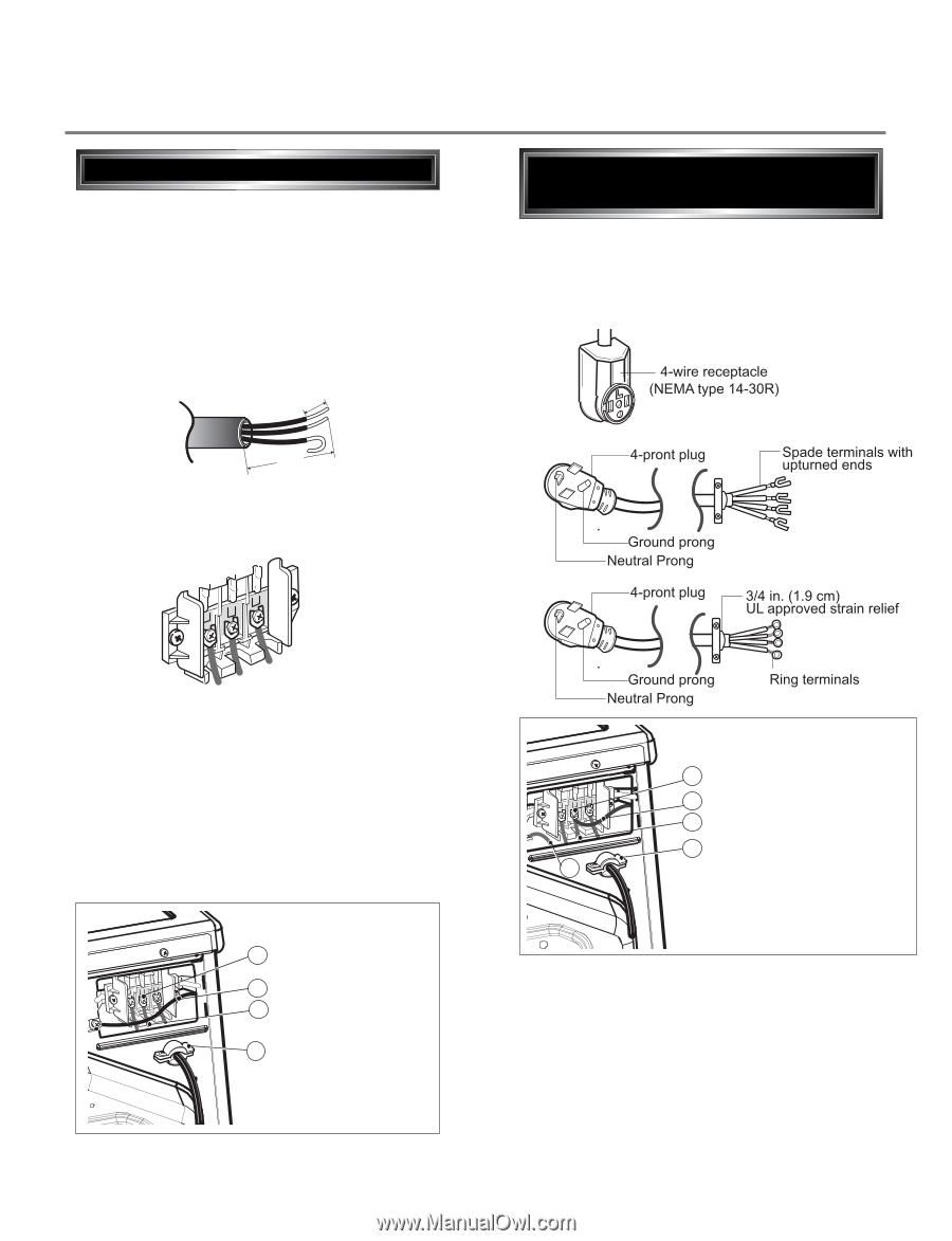 Lg dryers any service manual.