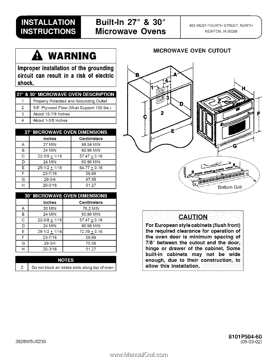 Lg Jmc8130dds Installation Instructions Built In Oven Wiring Il