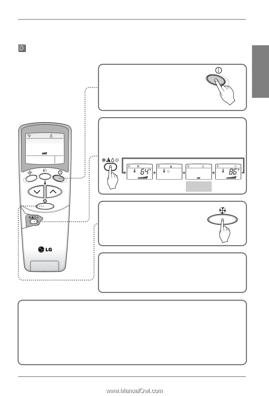 lg lan091hnp owner s manual page 12 rh manualowl com lg neo plasma air conditioner remote control lg neo plasma remote control code