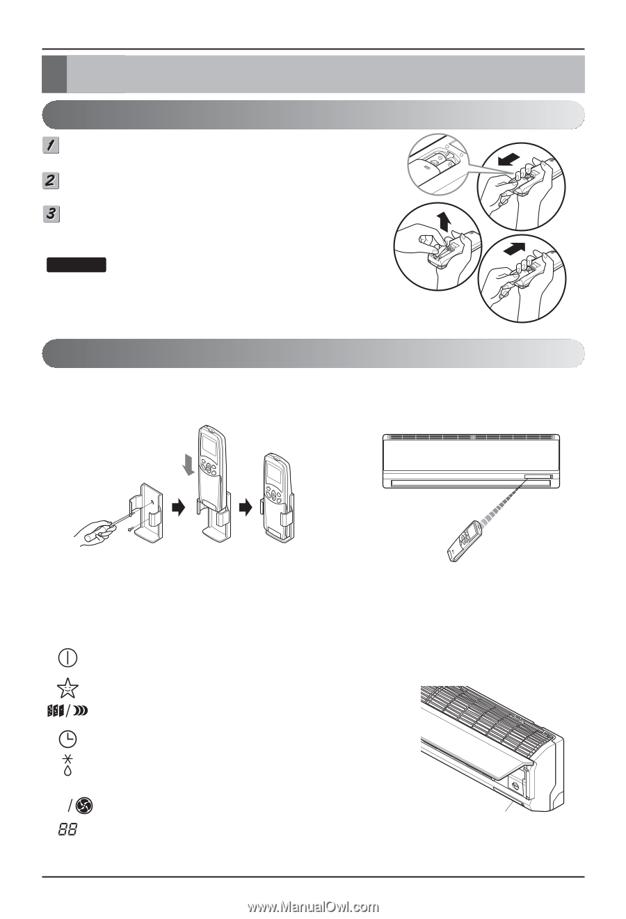 Lg Room Air Conditioner Owner S Manual