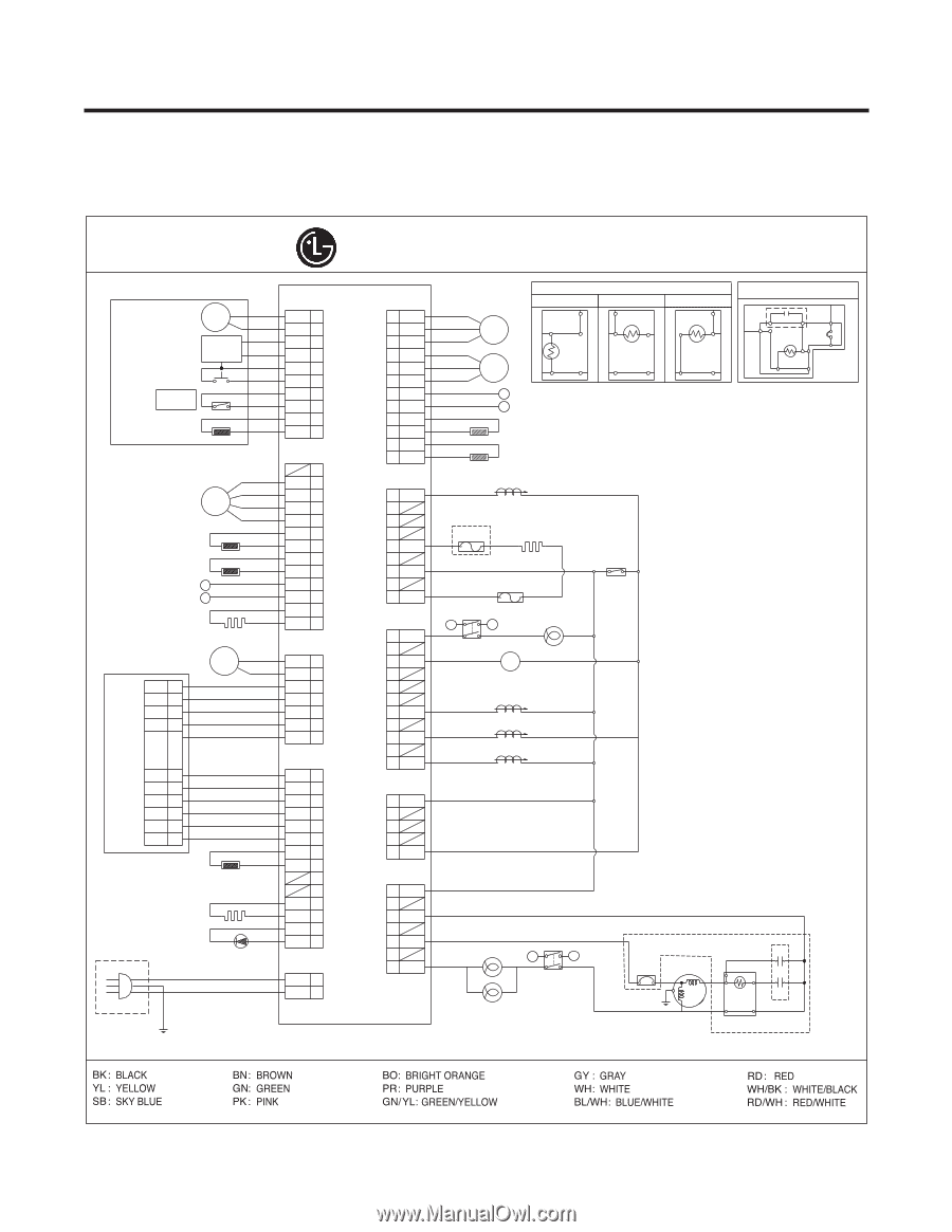 B 52 Lg Wiring Diagram Trusted Schematics Washer Lsc27914sw Owners Manual Page