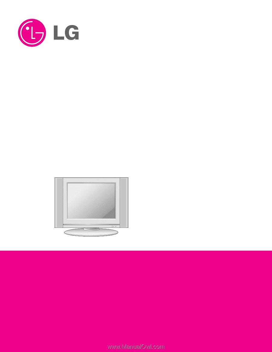 R. LCD TV. SERVICE MANUAL