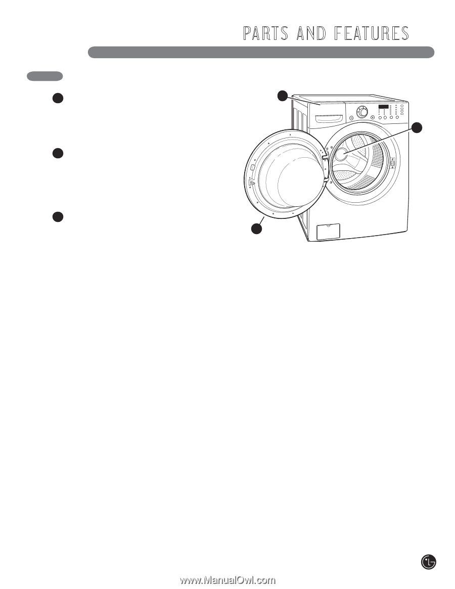 LG WM2010CW | Owner's Manual (English) - Page 7