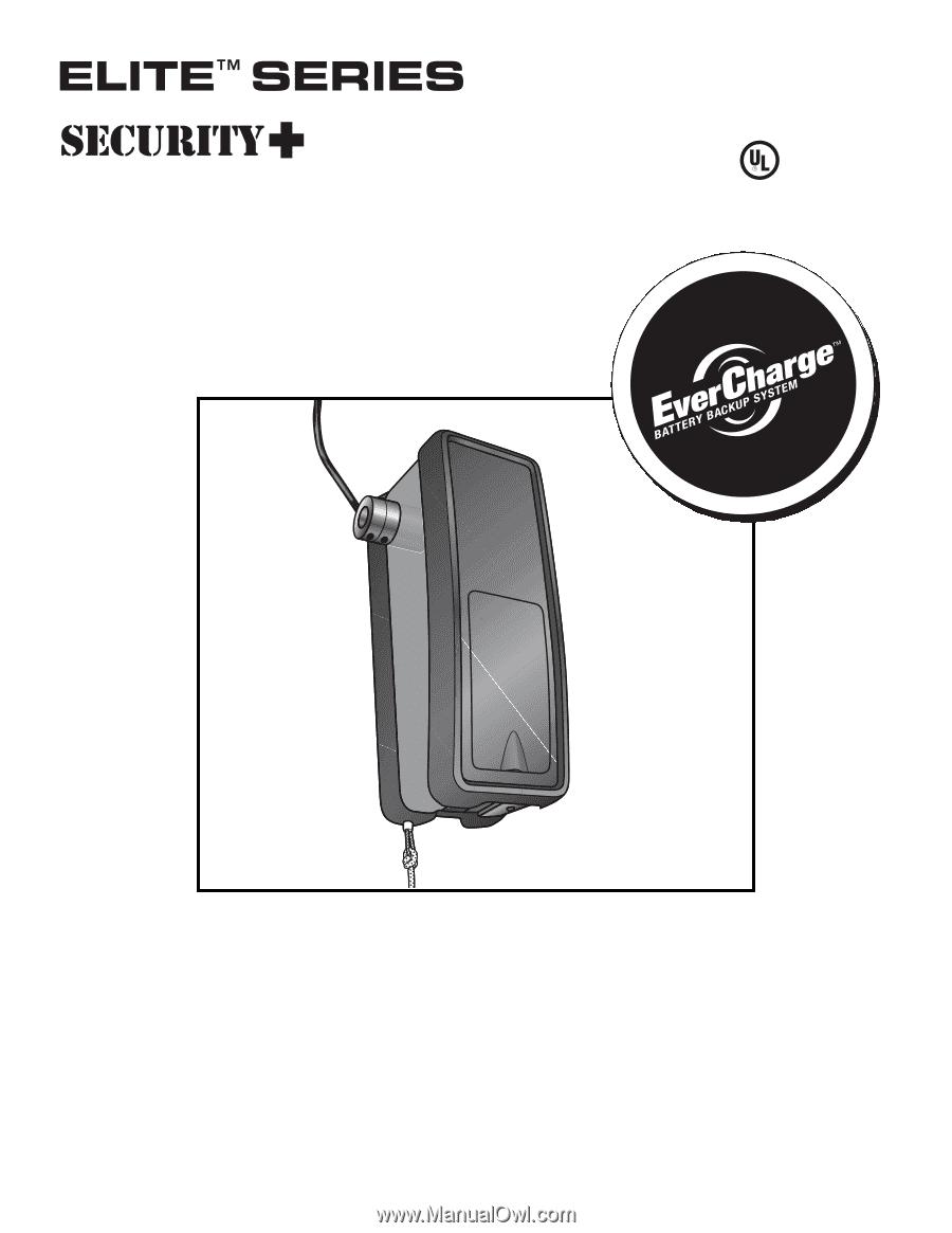 Liftmaster 3800 3800 Manual