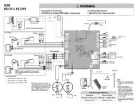LiftMaster RSL12V   RSL12V    Wiring       Diagram    Manual