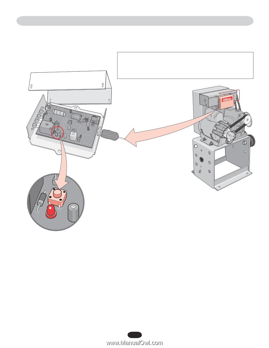Liftmaster Sl3000ul Manual Page 33 Sl 3000 Ul Wiring Diagram 3 1 5 M H Z 2 4 V D C R A I O E P G N