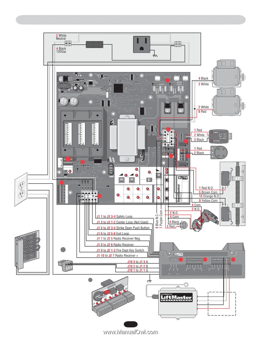 LiftMaster SL3000UL | SL3000UL Manual - Page 43Manual Owl