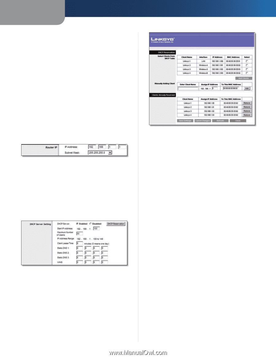 192.168 1.253 linksys wrt110 | user guide - page 11