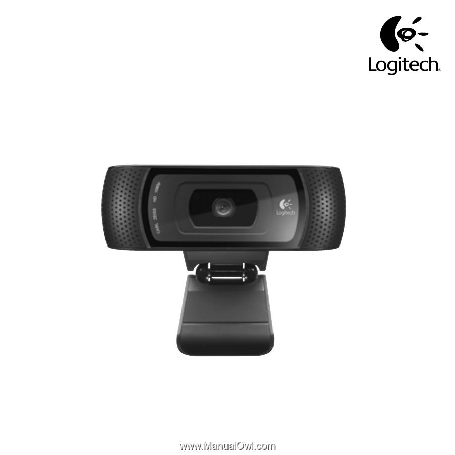 Logitech Hd Pro Webcam C910 Quick Start Guide Page 2