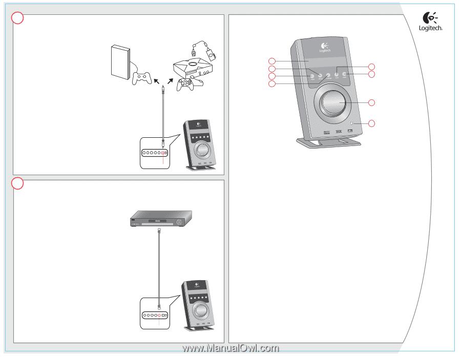 logitech z 5500 wiring diagram   30 wiring diagram images