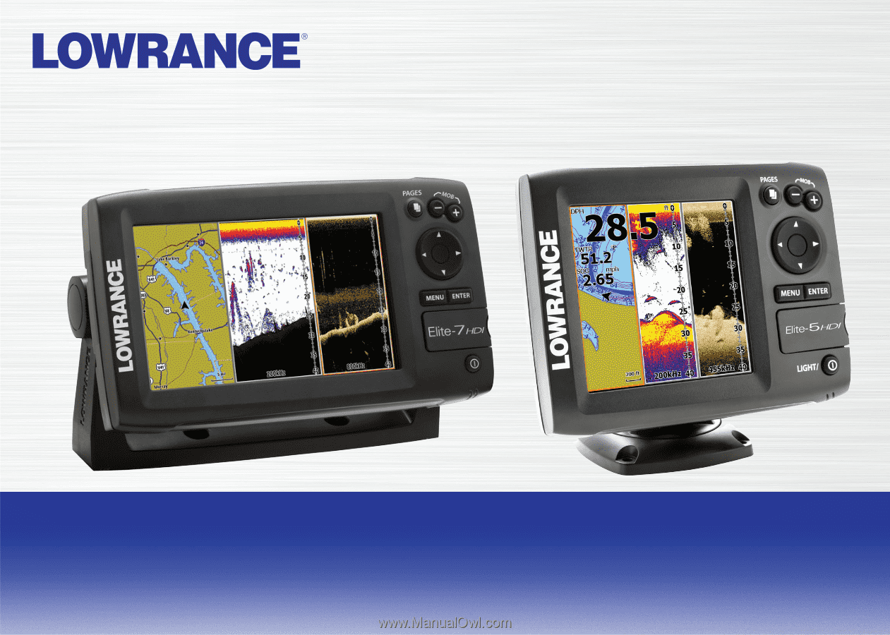 Lowrance Elite 7 Chirp Gold Operation Manual Wiring Diagram 5 Installation
