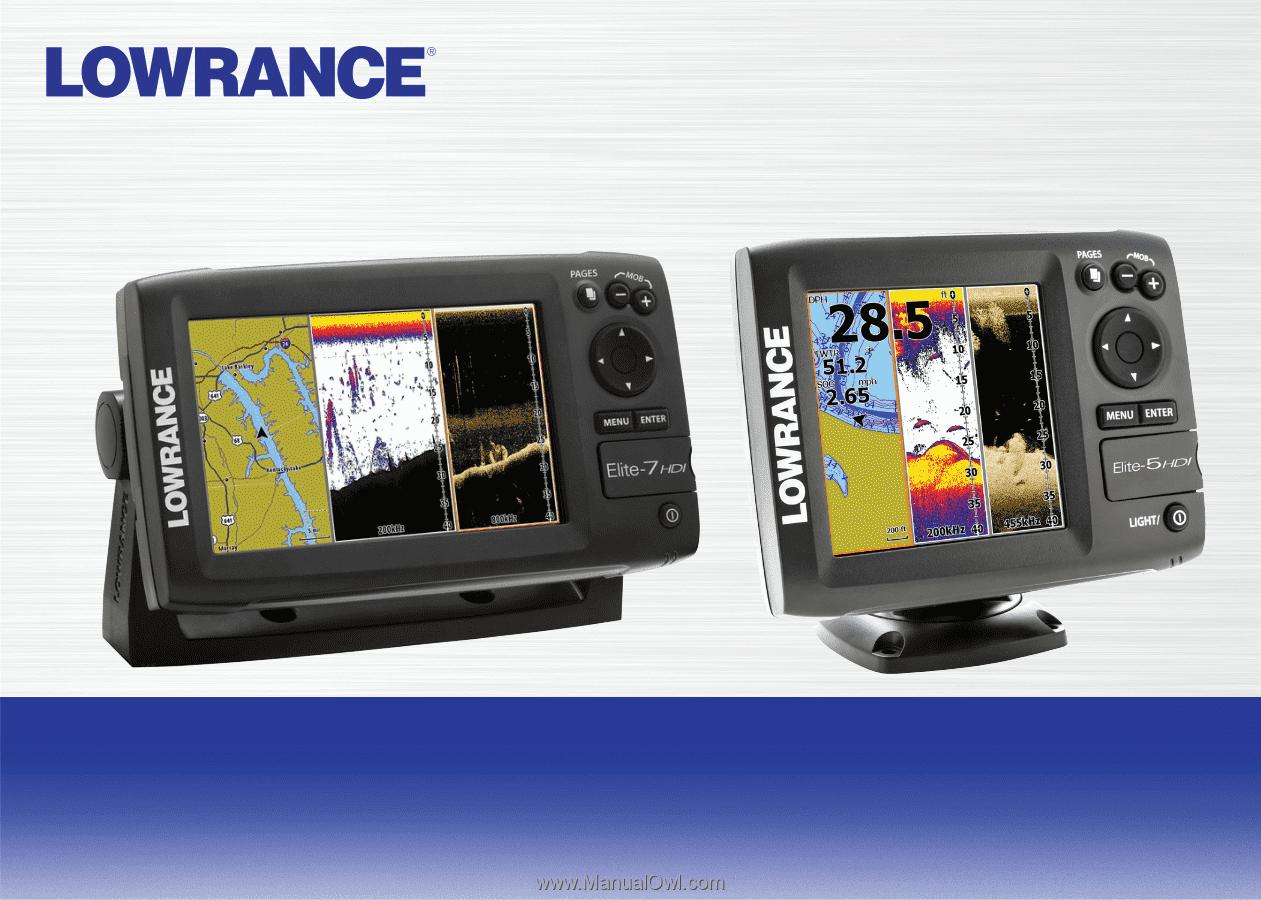 Lowrance Elite 7 Chirp Operation Manual Wiring Diagram Hook Installation