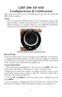 Lowrance EP-65R Fluid Level Sensor | Installation Configuration and
