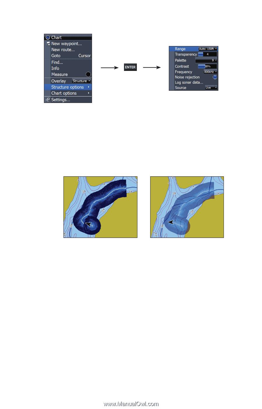 Lowrance HDS-5m Gen2   StructureMap Guide