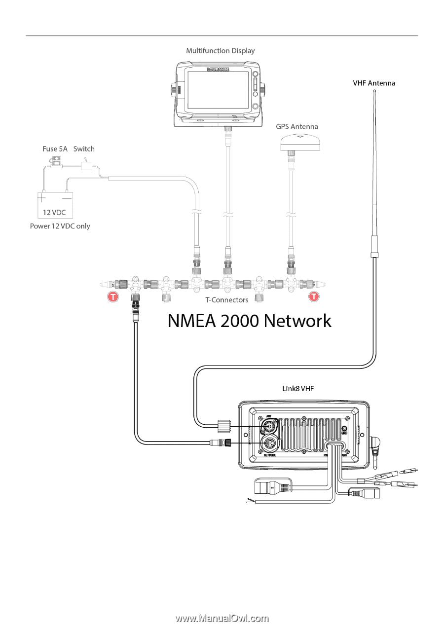 Lowrance Link 8 Dsc Vhf Installation Manual En Page 19 Mark 4 Wiring Diagram 32 Nmea 2000