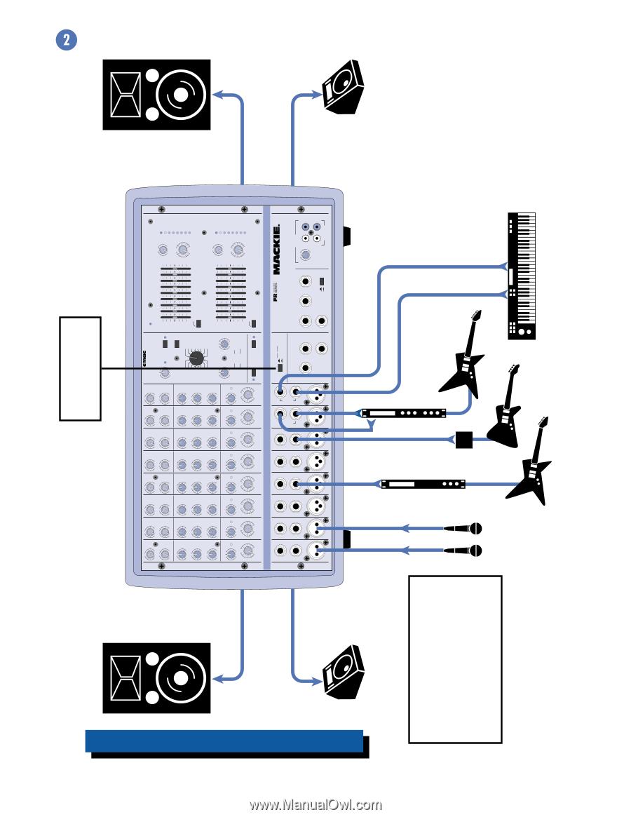 Mackie 406m Owners Manual Wiring Diagrams 7