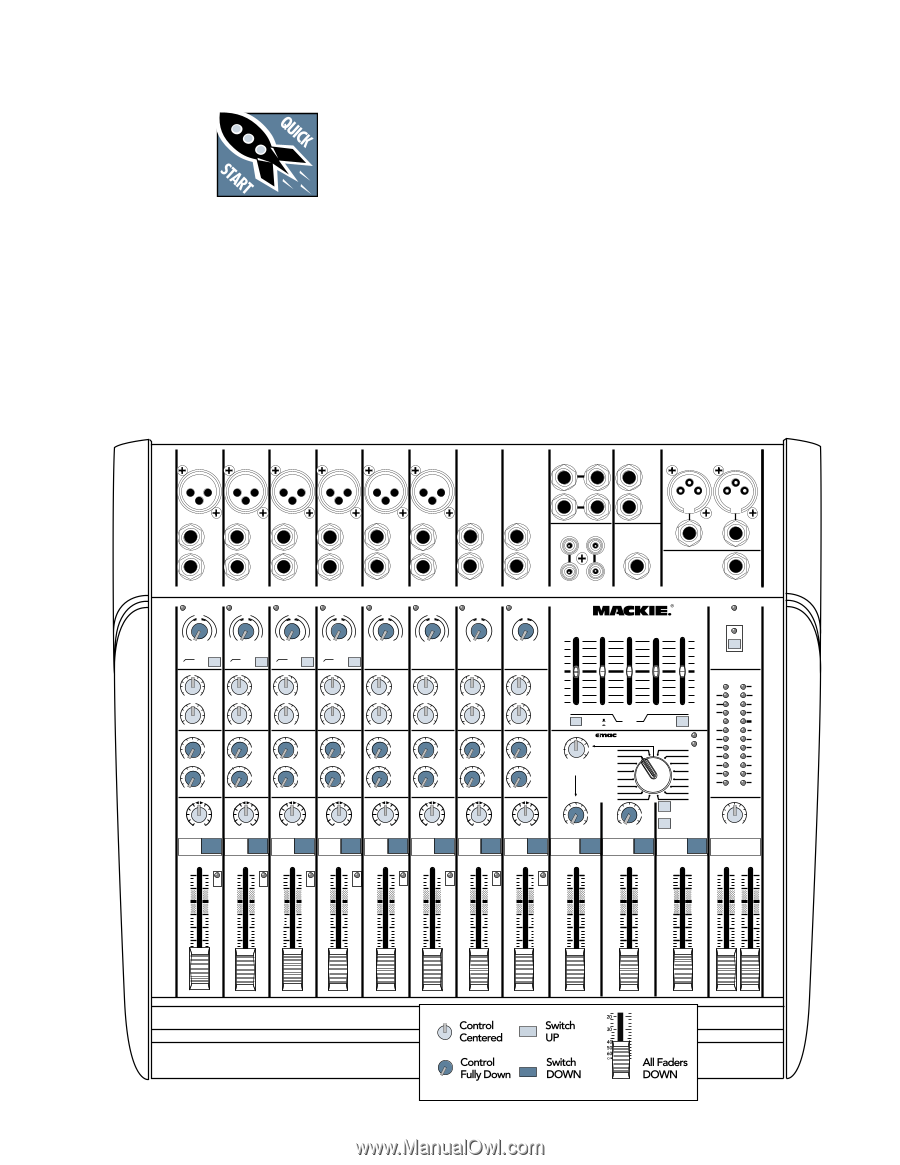 Mackie DFX 12 | Owner's Manual on