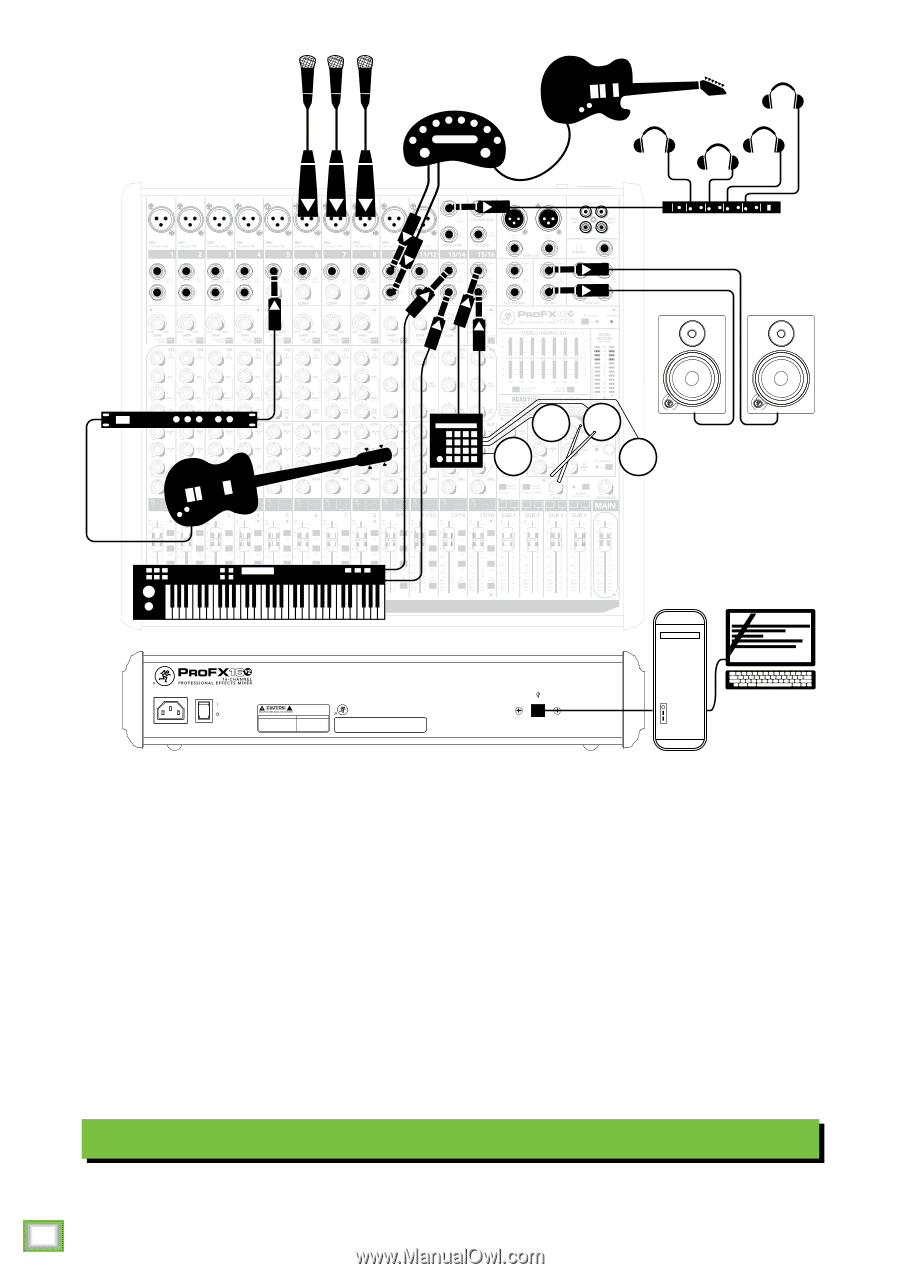 Mackie Profx30v2 Owners Manual Wiring Diagrams Profx8v2 Profx12v2 Profx16v2 Profx22v2