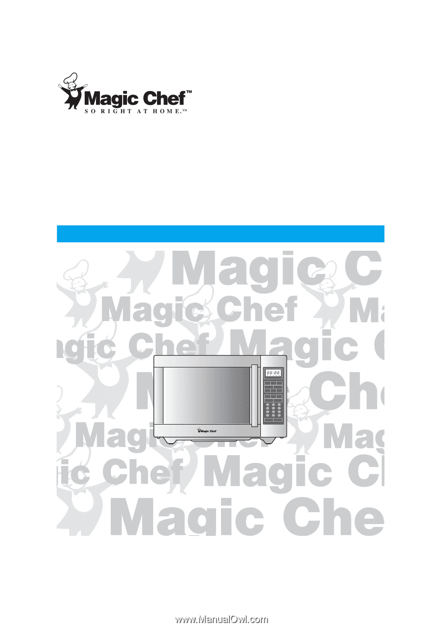 Magic Chef Mcd1311st User Manual Microwave Wiring Diagram 13 Cuft Full Stainless Steel Oven