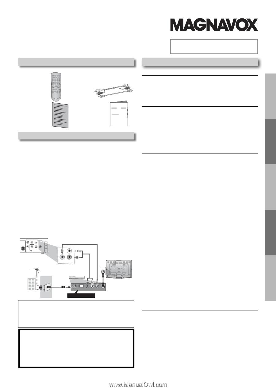 magnavox mdv2100 user manual english us rh manualowl com Magnavox 15MF605T 17 Manual Magnavox 50Me336v Manual