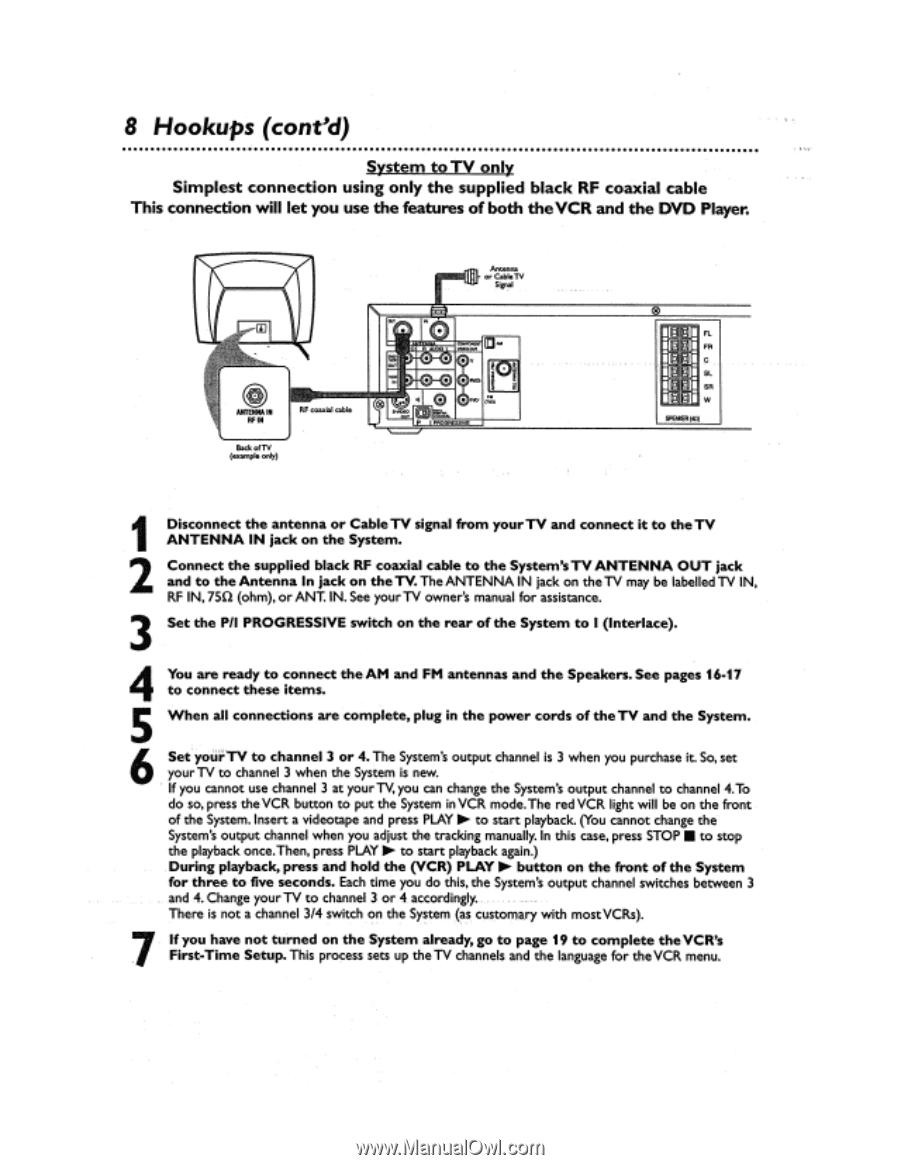 magnavox mrd500vr user manual english us page 17 rh manualowl com