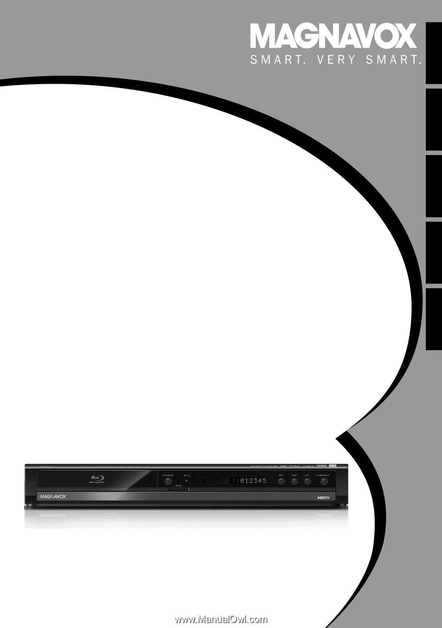 Magnavox NB500MGX | Owners Manual