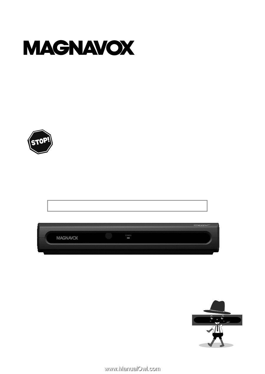 magnavox tb110mw9 user manual english us rh manualowl com RCA Digital Converter Box Manual SDTV Tuner Converter Box Manual