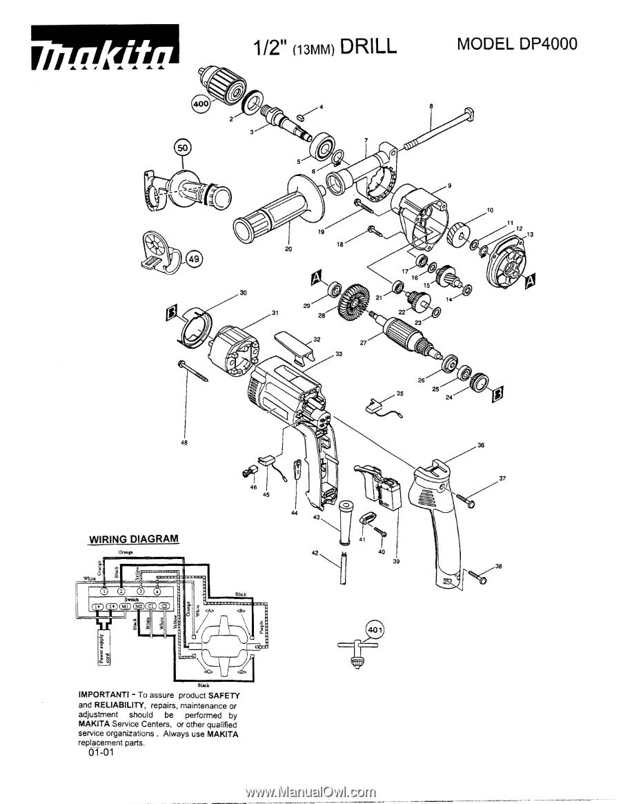 makita switch wiring diagram