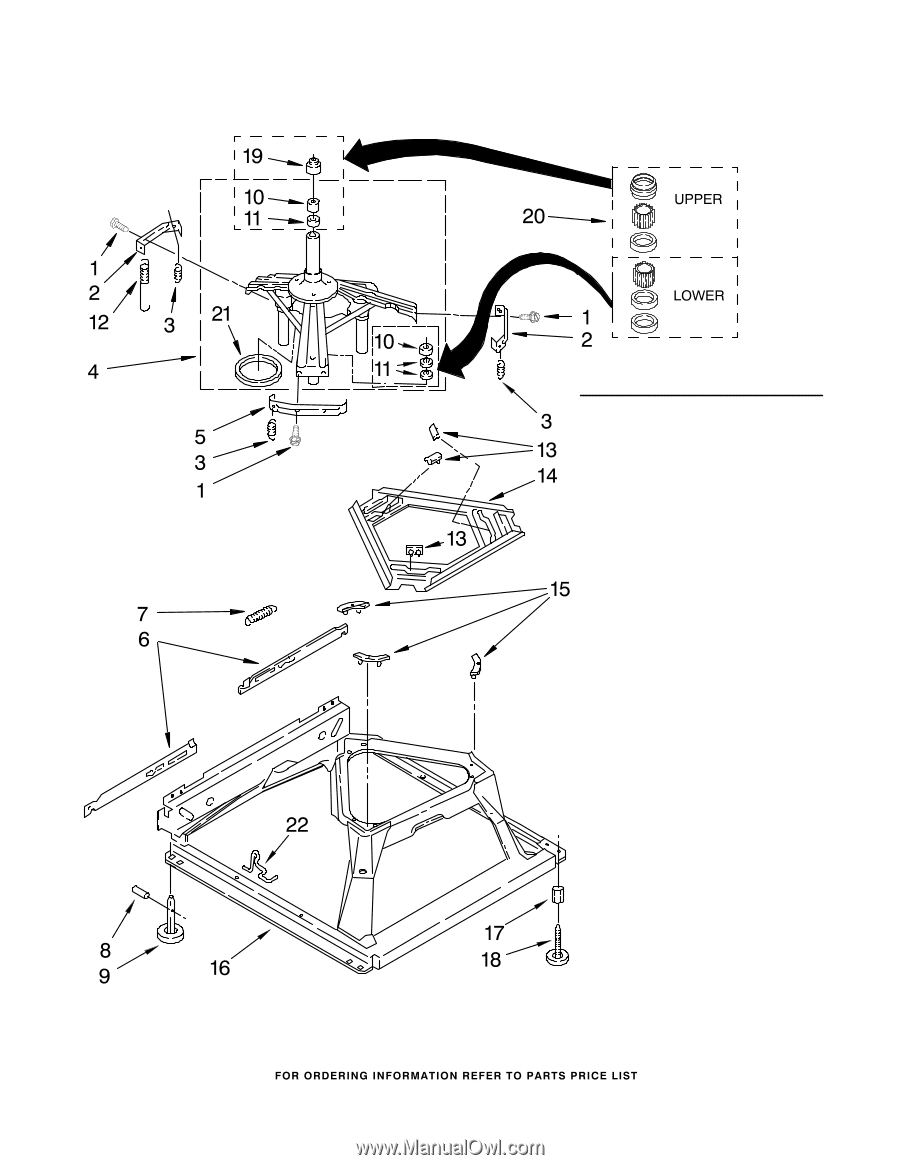 Maytag Mvwc700vj Parts Diagram Wiring Harness Clip 90016 Machine Base