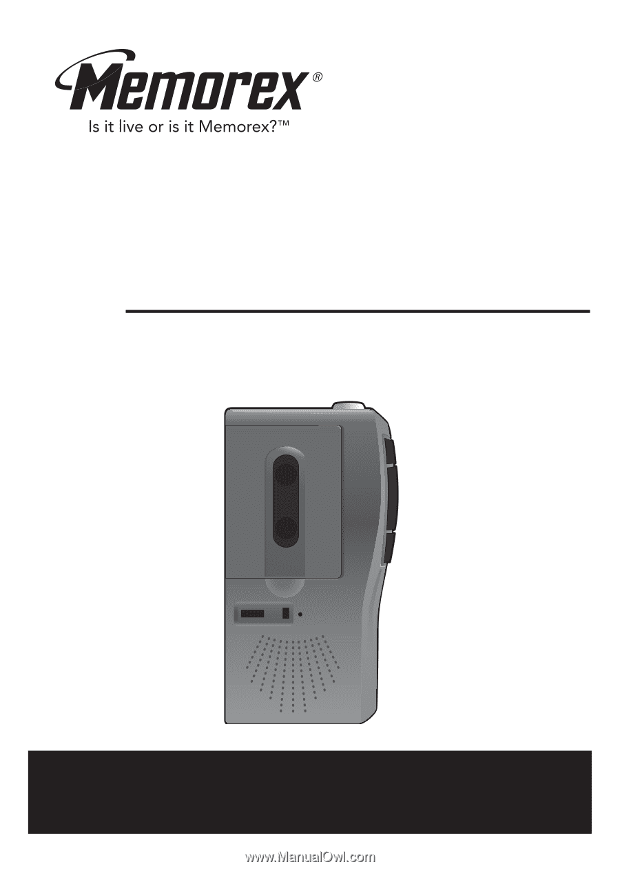 Memorex digital voice recorder mb2059c manual.