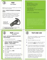 motorola h550 user manual rh manualowl com motorola hx550 universal bluetooth headset manual motorola h550 bluetooth headset manual