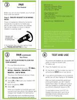 motorola h670 user manual rh manualowl com Motorola N136 Motorola N136 Bluetooth Headset Manual