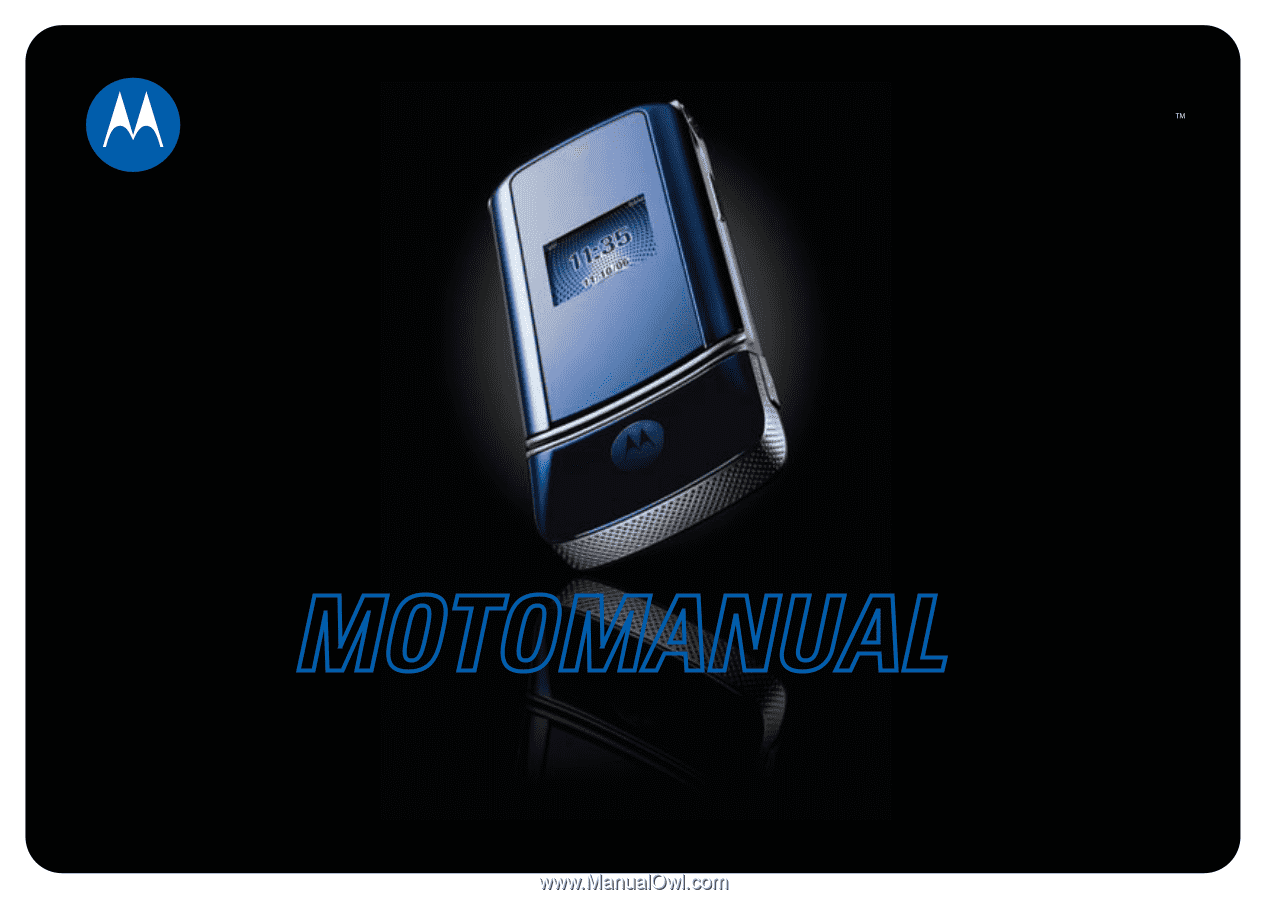 motorola krzr k1 user manual rh manualowl com Motorola W755 Motorola MC9500