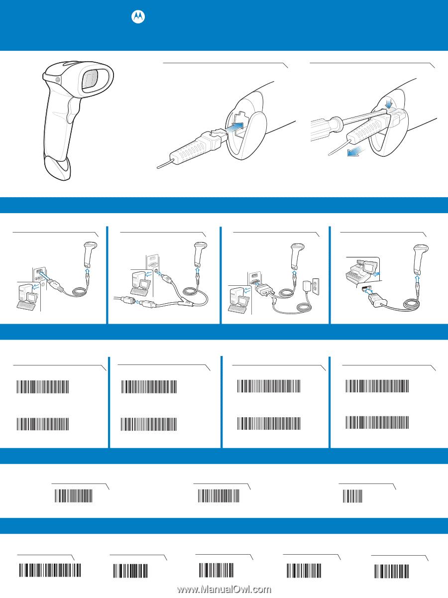 Motorola Ls2208 7azu0100zr Quick Start Guide