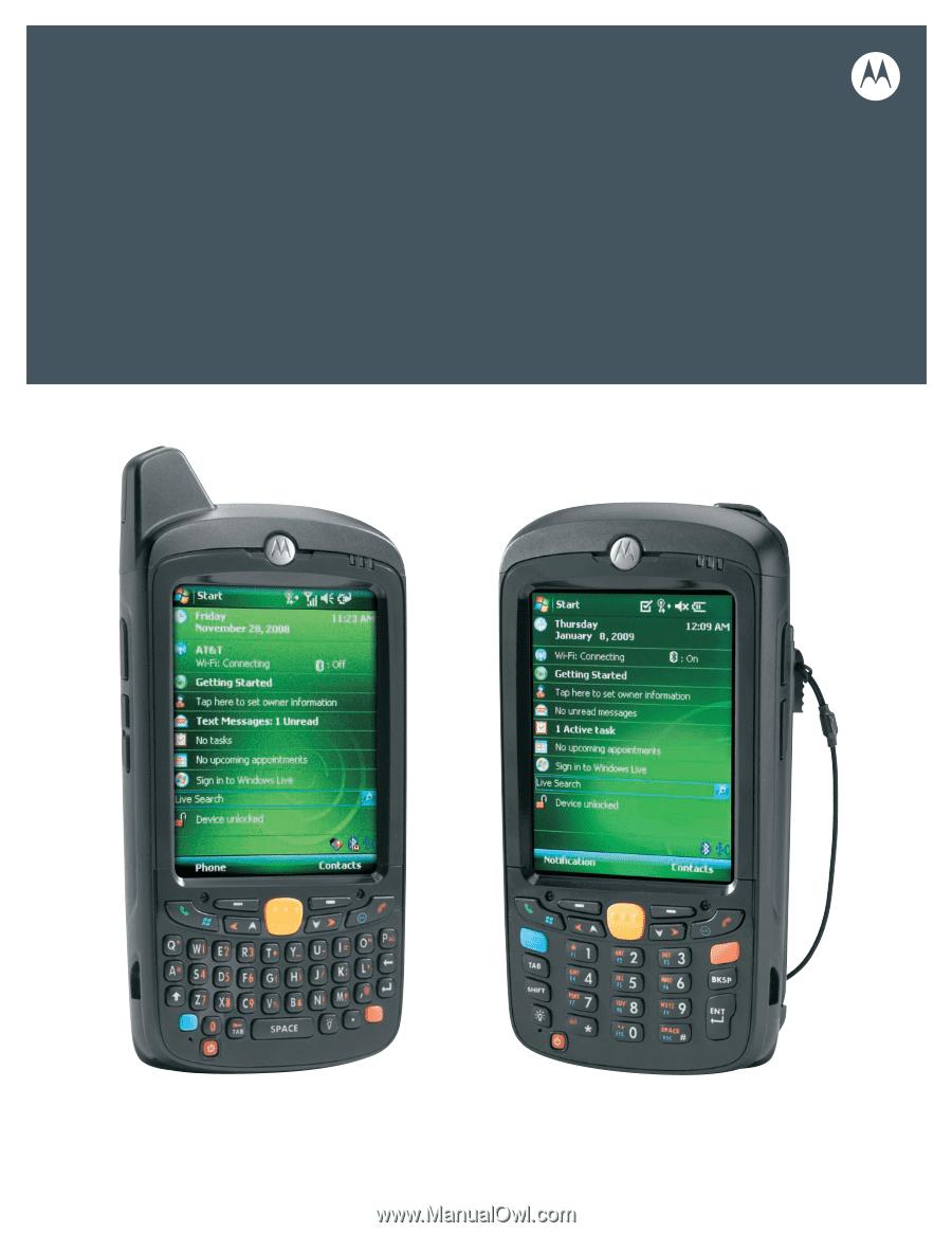 Motorola MC55 | User Manual