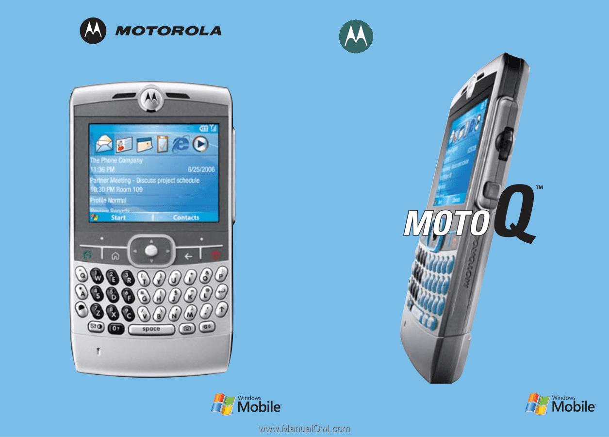 motorola q9h user manual rh manualowl com Verizon Moto Q Smartphone Moto Q Smartphone