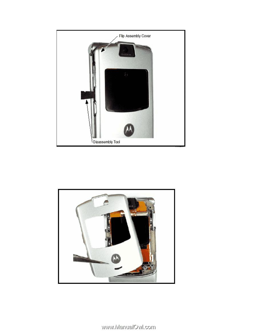 motorola razr v3 repair manual page 28 rh manualowl com Motorola RAZR Maxx Motorola RAZR V3M