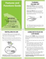 motorola t505 user manual rh manualowl com Reset Motorola T505 Motorola Syn1717a