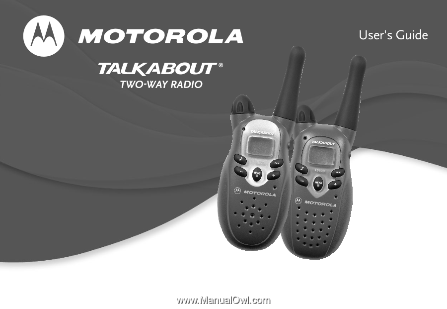 motorola t5400 user manual rh manualowl com motorola talkabout t5725 user manual motorola talkabout t5022 user manual