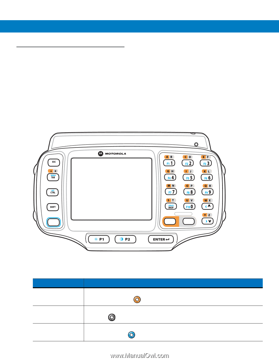 Motorola WT4000 | User Guide - Page 29