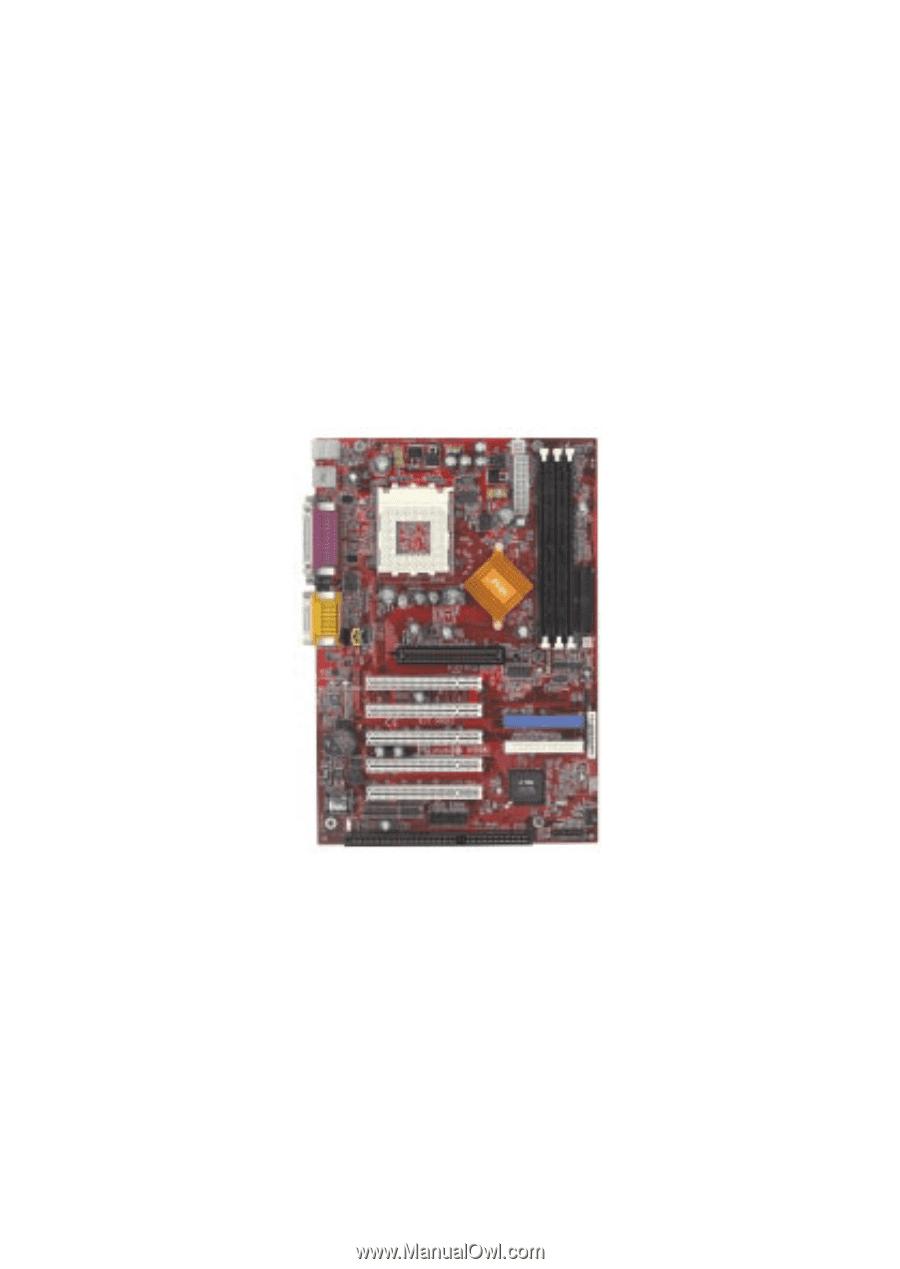 Msi k7t turbo2 | user guide.