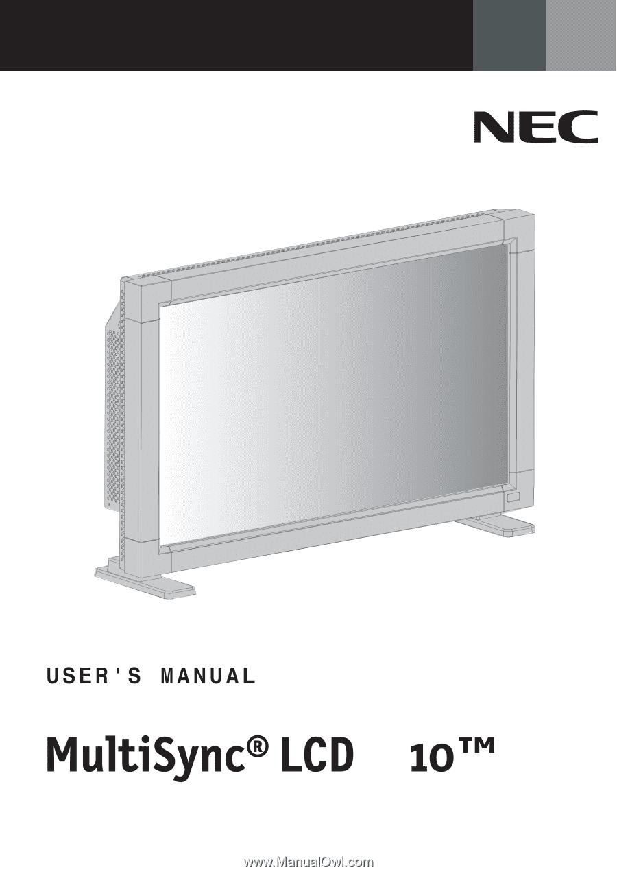nec lcd3210