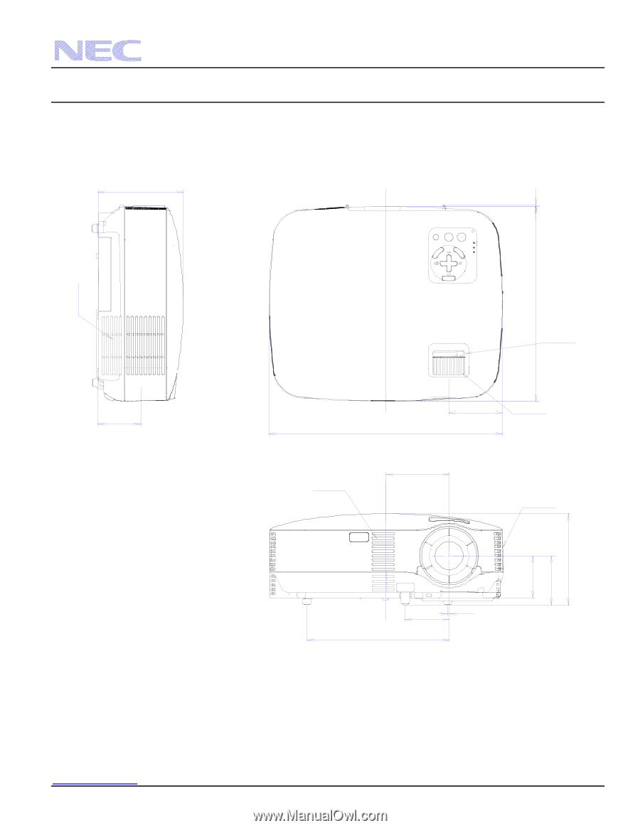 Nec Vt570 Projector L With Module Array Vt700 Vt695 700 Ig Rh Manualowl: Motorola M300 Radio Wiring Diagram At Chusao.net