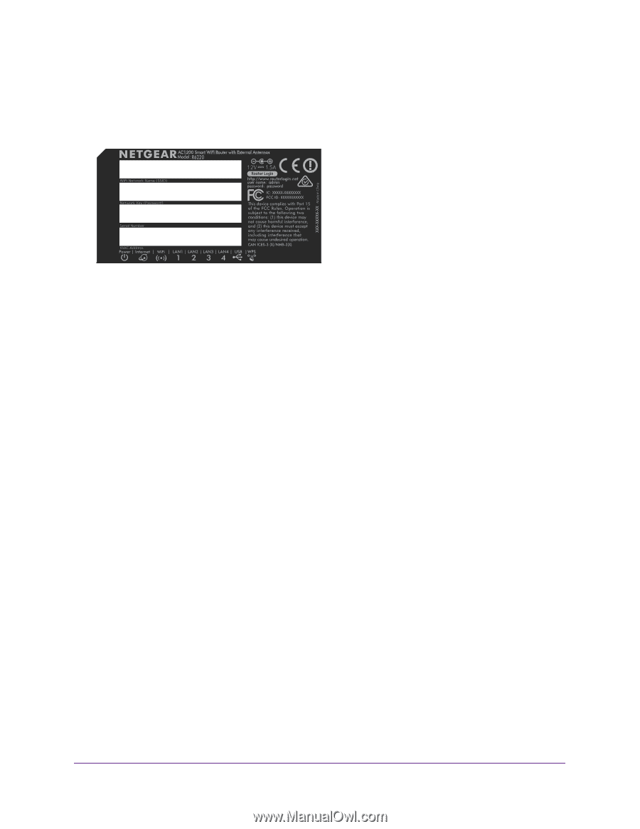 Netgear R6220 | User Manual - Page 17