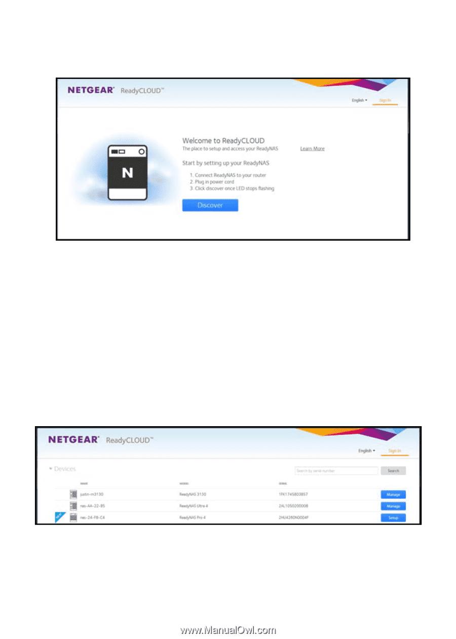 Netgear RN10400 | ReadyNAS OS 6 Installation Guide