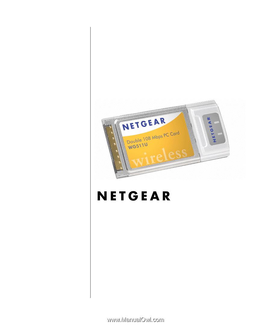Netgear WG511 Driver Windows 7